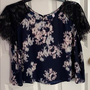 2 for $10 Floral Lace Blouse